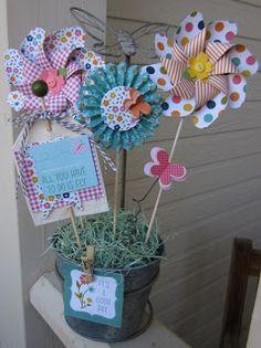 pinwheels and rosettes