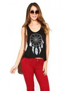 Dream Catcher Knit Tank