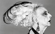 Do Not Trespass On The Crone For She Does Not Suffer Fools. Quentin Crisp