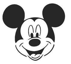Pin Von Victoria Costa Auf People I Love Mickey Mouse Schablone Mickey Schablonen Vorlagen