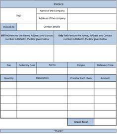 free plumbing invoice template 7 | free plumbing invoice templates, Invoice templates
