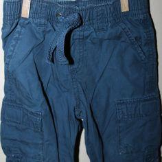 Roll cuff pants, 12-18 months