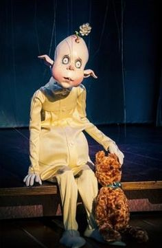 Schnitzel from puppet master Ronnie Burkett's production of The Daisy Theatre