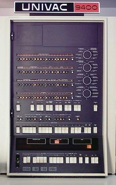 UNIVAC 9400 Frontpannel, 1967 – History of Computers – computer School Computers, Old Computers, Computer Technology, Computer Science, Computer Love, Computer Hardware, Cool Tech, Retro Futurism, History