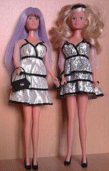 Steffi Love Party Glam dress (Just a Nobody) Tags: love fashion toys doll steffi dress barbie simba fashiondoll mattel raquelle