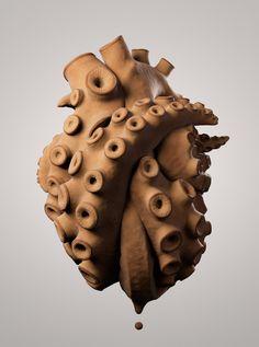 SculptJanuary Day 2: Tentacles, Julien Kaspar on ArtStation at https://www.artstation.com/artwork/2k69x