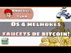 4 Melhores faucets de Bitcoin - Links da nescrição