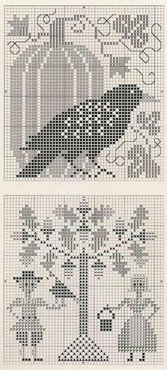 Gallery.ru / Фото #4 - Волшебный дуб - lenkner mini cross stitch sampler (bottom)