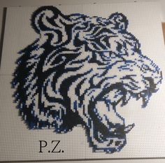 Tiger hama mini beads