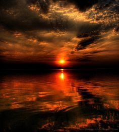 ~Visually Stunning Sunset~