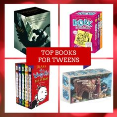 2013 Holiday Gift Guide - Top Books for Tweens - Tweenhood Holiday Gift Guide, Holiday Gifts, Books For Tweens, Promote Your Business, Business Website, Web Design, Teen, Kids, Holidays