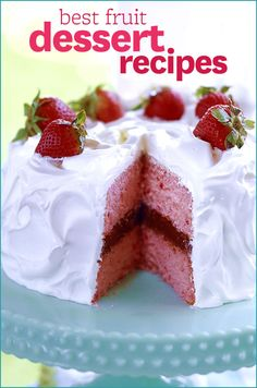 From apples to strawberries, we have fruit desserts you're sure to love. Get the recipes here: http://www.bhg.com/recipes/desserts/fruit/best-fruit-dessert-recipes/?socsrc=bhgpin060213bestfruitdesserts
