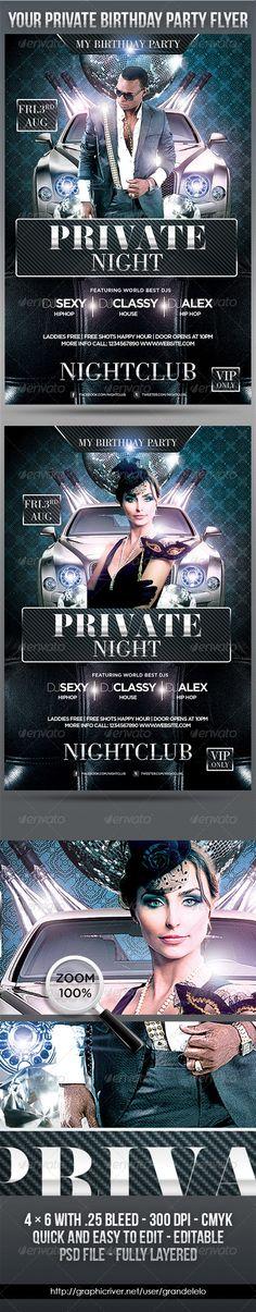 Bithday Private Night