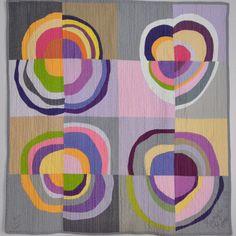 Improv Circle quilt