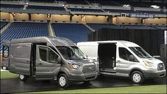 2013 Euro-spec Ford #Transit side view