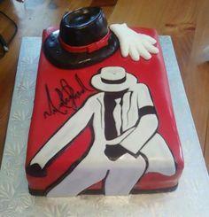 Awesome MJ cake