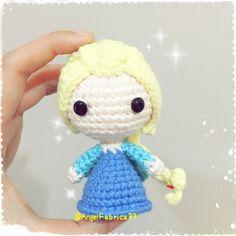 Frozen inspired Queen Elsa Frozen Disney by AngelFabrica77 on Etsy