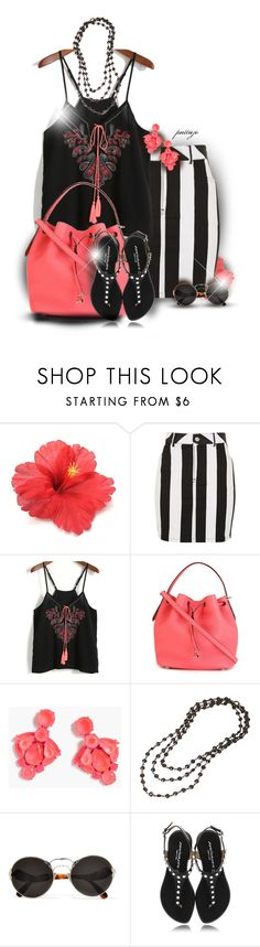 """Bright On"" by rockreborn ❤ liked on Polyvore featuring Motel, Bally, J.Crew and Prada"