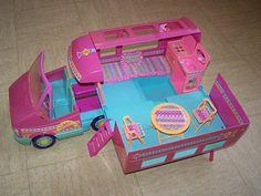 Barbie Magic Van Sunshine (Mattel - 1990). My parent's story of finding this is hilarious.