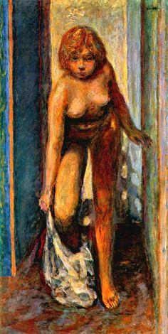 Pierre Bonnard - Woman undressing