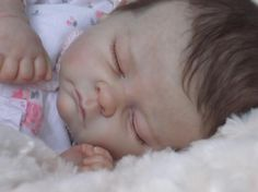 Clare's Babies Beautiful Reborn Baby Girl Doll Andi The Cradle Sold Out   eBay