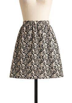 Ornate the Great Skirt | Mod Retro Vintage Skirts | ModCloth.com - StyleSays