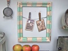 Shabby Chic Frame Beach Cottage Frame Kitchen Recipe by SweetMeas, $32.00