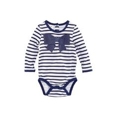 Onesie - from H&M ❤ liked on Polyvore featuring baby, baby clothes, baby girl, baby girl clothes and bebê