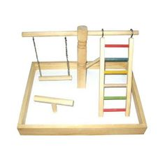 A&E Parrot Play Stands