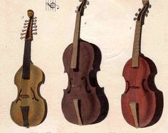 $110, 1810 musical instruments original antique print of the violin, cello etc. rare