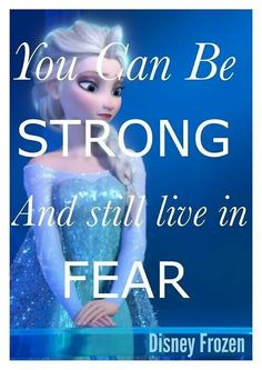 Strength does not come from admitting our fears, but knowing they exist. ♥