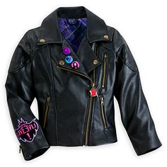 Descendants Faux Leather Jacket for Girls~ @deans our daughter is bugging out over this
