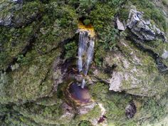 Cachoeira Janela do Céu, em Conceição do Ibitipoca, em Minas Gerais
