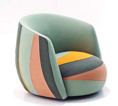 colorful chair | modern sofa ideas  |www.bocadolobo.com/ #modernchairs #luxuryfurniture #chairsideas