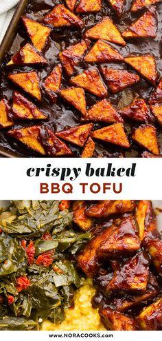 Vegan Bbq Recipes, Tasty Vegetarian Recipes, Vegan Foods, Veggie Recipes, Whole Food Recipes, Cooking Recipes, Healthy Recipes, Vegan Meals, Healthy Tofu Recipes