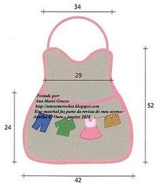 This post will show you 15 beginning sewing patterns you can make in under an hour. Sewing Aprons, Sewing Clothes, Washing Peg Bags, Sewing Crafts, Sewing Projects, Clothespin Bag, Towel Dress, Plastic Bag Holders, Laundry Decor