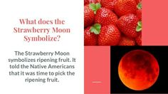 """June 20, 2016: The first time in 50 years the summer solstice coincided with June's full moon / """"strawberry moon"""" (not literally red). Will not happen again until 2062. Snopes article"""