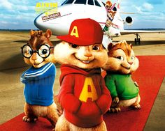 Alvin and the Chipmunks Squeakquel Poster x