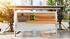 Stand-up, balconybar with magnetic bottle opener,Made of solid alder wood and treated with Danish oilGr.is created in the hot Summer time andDesigned by A & M sculpture Magnetic Bottle Opener, Croup, Summer Time, Balcony, Wood, Home Decor, Balcony Bar, Daylight Savings Time, House Porch