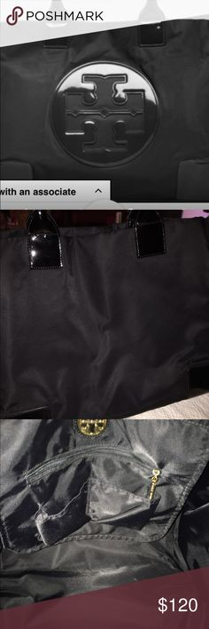 Authentic Troy Burch Ella tote bag Like new your welcome to make an offer Tory Burch Bags Totes