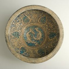 """Sultanabad Bowl - ADC.53 Origin: Central Asia Circa: 14 th Century AD Dimensions: 5.71"""" (14.5cm) high x 11.61"""" (29.5cm) wide Collection:..."""