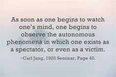 We can speak of the conscious ego as the subjective personality, and of the shadow self as the objective personality. ~Carl Jung, 1925 Seminar, Page 139 For we do have effects on people which we can neither predict nor adequately explain. Instinct warns us to keep away from this racial side of ourselves. ~Carl Jung, …