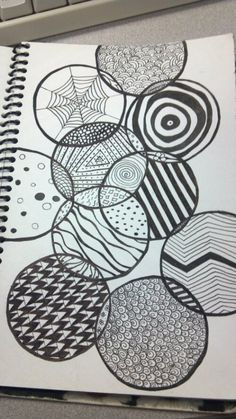 tj-Creations Zentangles - Seeing Circles
