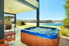 Stellar Vista, a Kiama Waterfront Apartment Weekends Away, Trip Advisor, Short Breaks, Australia, Cabin, Beach, Outdoor Decor, House, Holidays