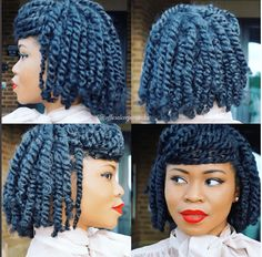 Stunning Protective Style Twists IG:@officialcorporatechic  #protectivestyles #naturalhairmag