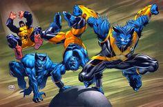 Resultado de imagen de bestia marvel comics