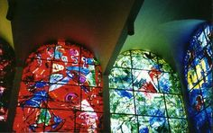 Twelve Maquettes of Stained Glass Windows for Jerusalem suite
