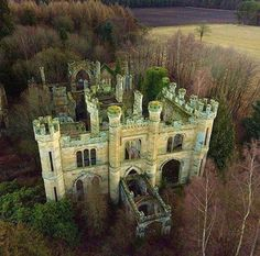 r/AbandonedPorn - The Crawford Priory was originally built as Crawford Lodge by the 21st Earl of Crawford in 1758. It was substantially enlarged & extended in the early 19th century by a sister of the 22nd Earl, Lady Mary Lindsay Crawford. The final owner was the 2nd Baron of Glasgow 1968 … Abandoned Castles, Abandoned Mansions, Abandoned Buildings, Abandoned Places, Haunted Places, Beautiful Castles, Beautiful Buildings, Beautiful Places, Places To Travel
