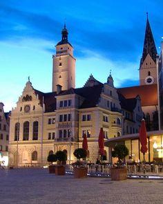 Rathausplatz Ingolstadt, Oberbayern