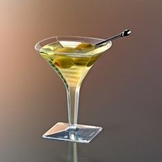 (For Drinks or Desserts) Mini Martini Glasses from www.DiscountPartySupplies.com